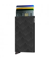 Secrid Cardprotector Structure Black Wallet - Thumbnail