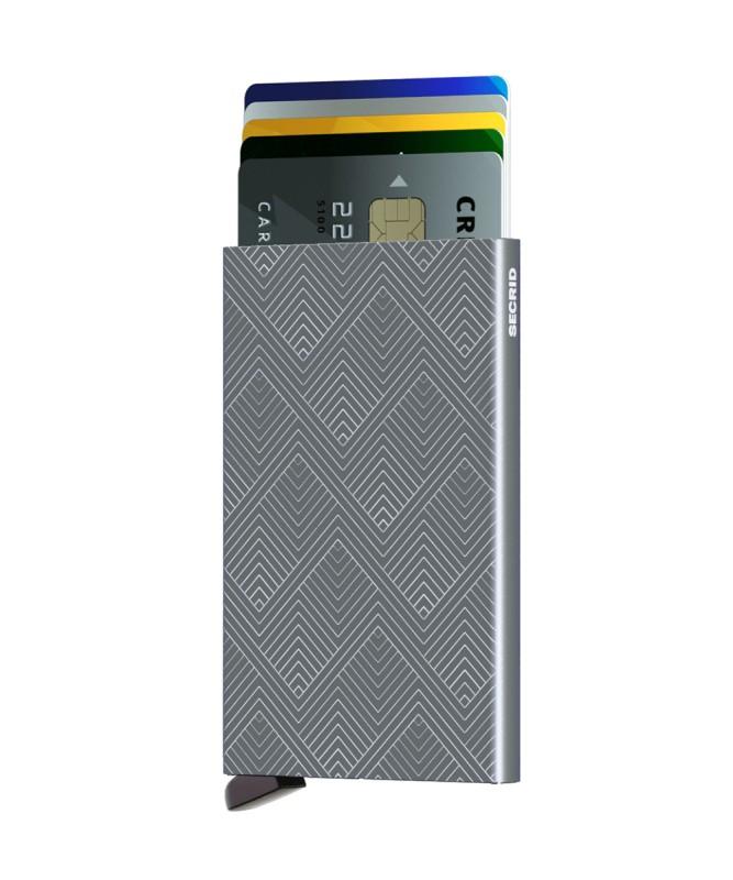 Secrid - Secrid Cardprotector Structure Titanium Cüzdan (1)