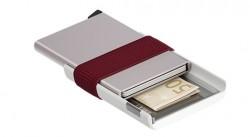Secrid Cardslide White Bordeaux Cüzdan - Thumbnail