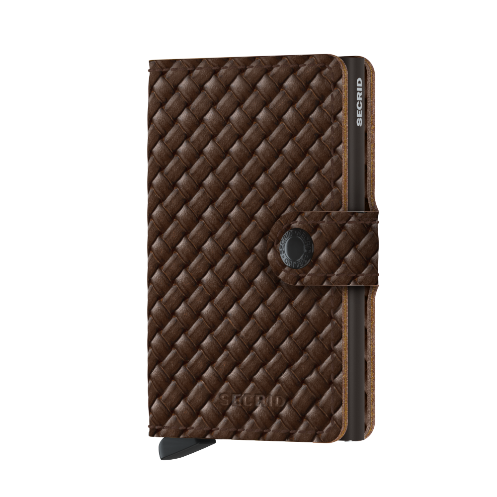 Secrid Miniwallet Basket Brown Cüzdan