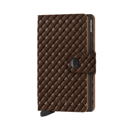 Secrid - Secrid Miniwallet Basket Brown Cüzdan