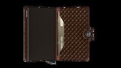 Secrid Miniwallet Basket Brown Cüzdan - Thumbnail