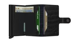 Secrid Miniwallet Cleo Black Wallet - Thumbnail