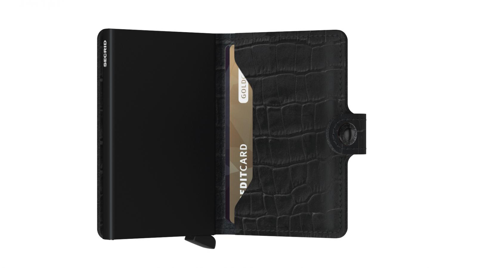 Secrid Miniwallet Cleo Black Wallet