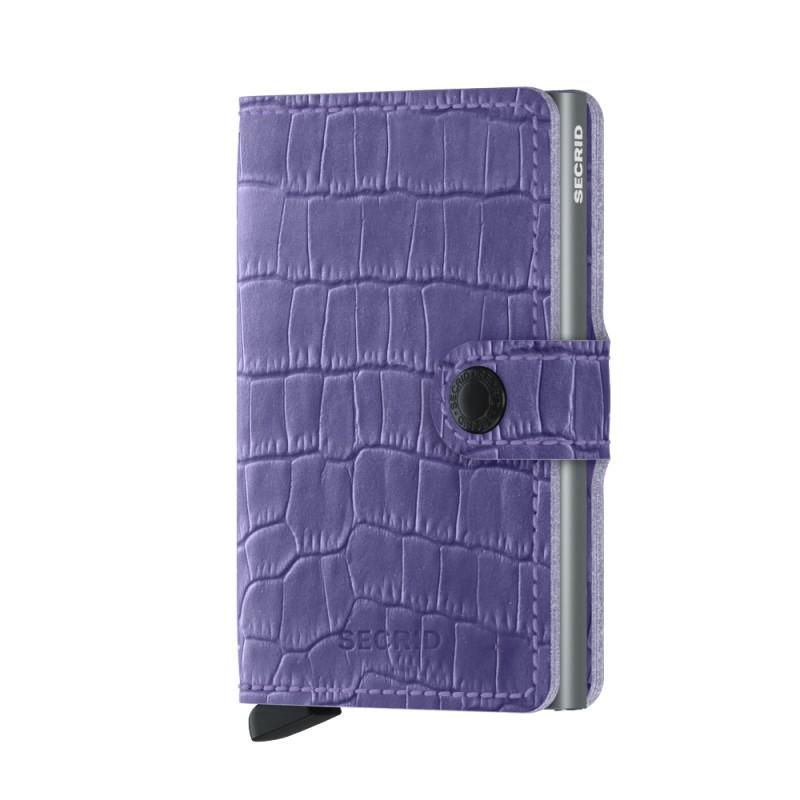 Secrid - Secrid Miniwallet Cleo Lavender Cüzdan