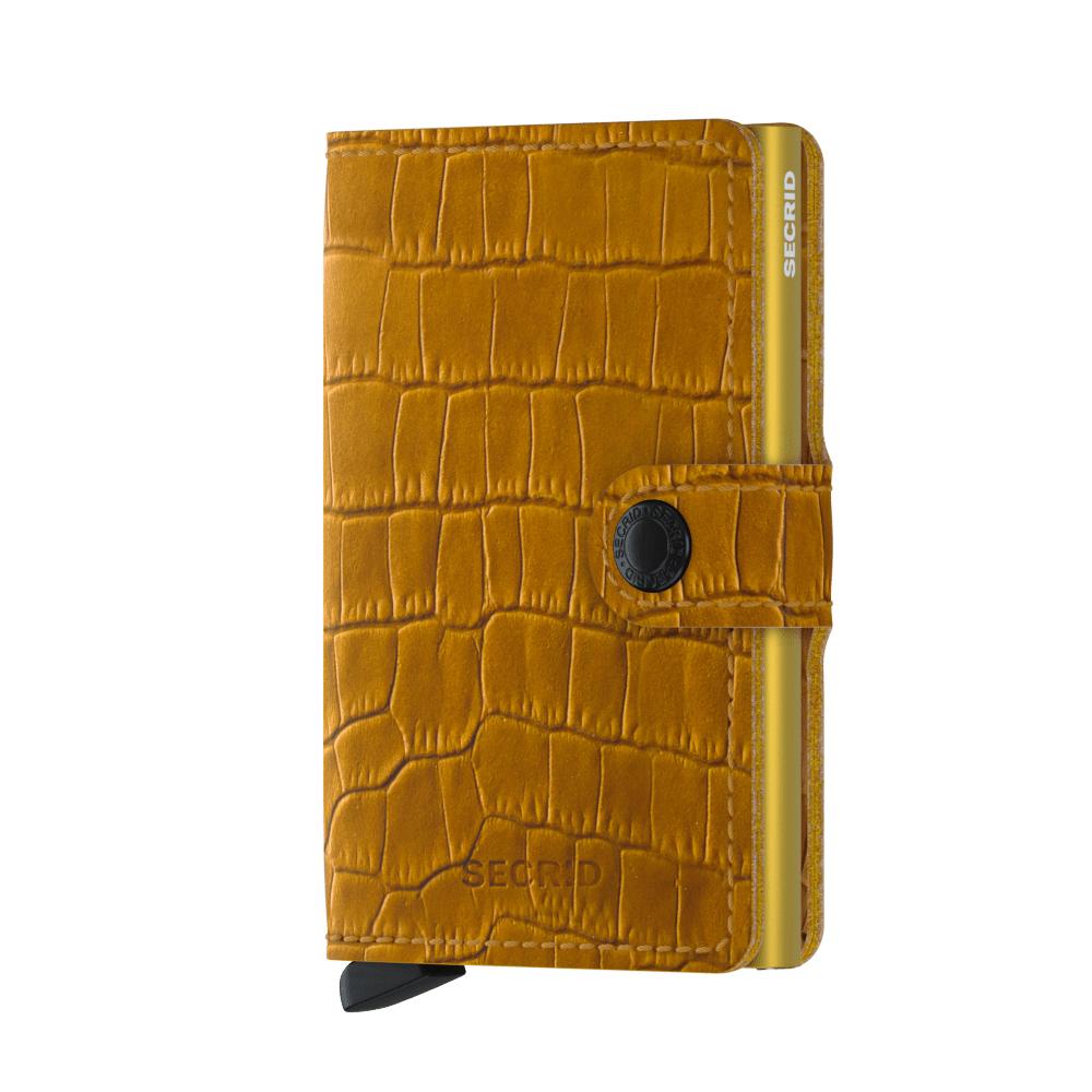 Secrid Miniwallet Cleo Ochre Wallet