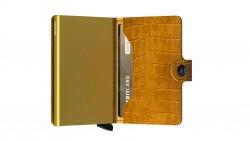 Secrid Miniwallet Cleo Ochre Wallet - Thumbnail