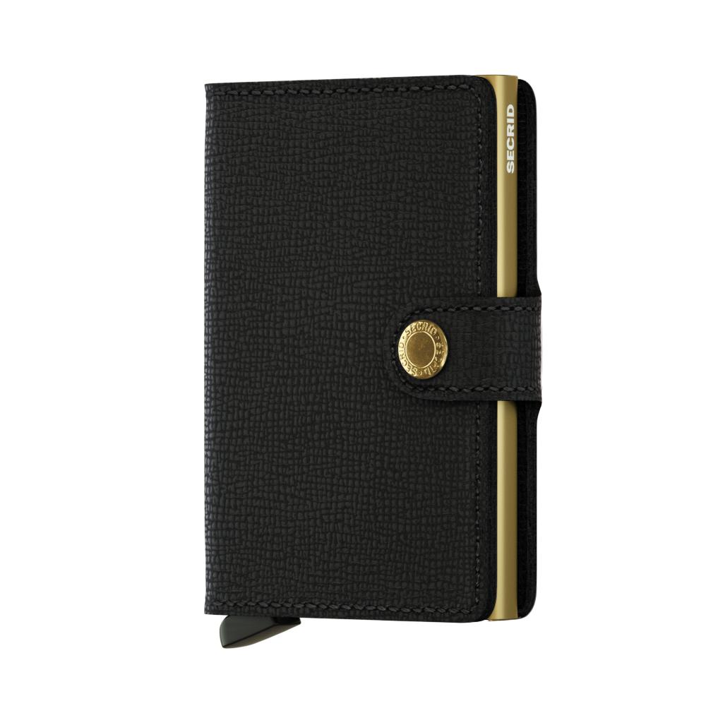 Secrid Miniwallet Crisple Black Gold Cüzdan