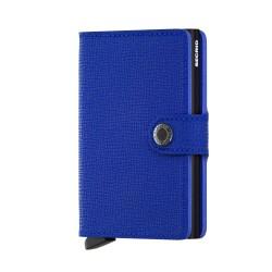 Secrid Miniwallet Crisple Blue Black Cüzdan - Thumbnail