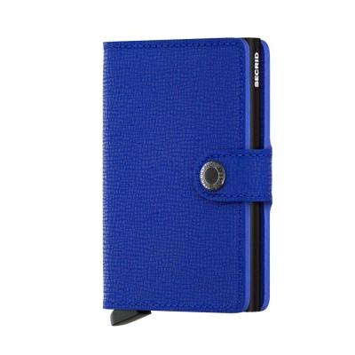 Secrid Miniwallet Crisple Blue Black Wallet