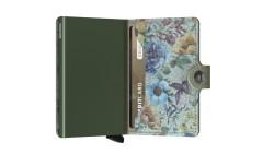 Secrid Miniwallet Crisple Pistachio Floral Cüzdan - Thumbnail