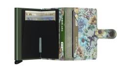 Secrid Miniwallet Crisple Pistachio Floral Wallet - Thumbnail
