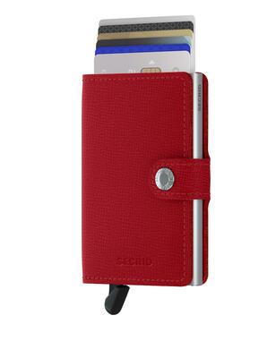 Secrid - Secrid Miniwallet Crisple Red Cüzdan (1)