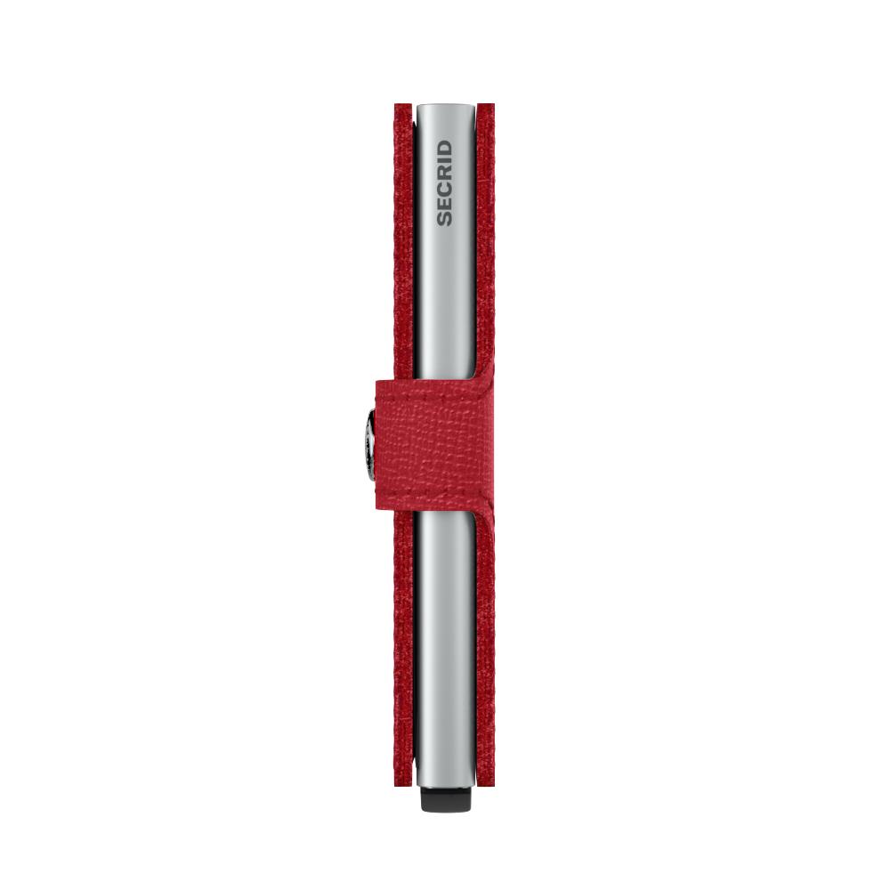 Secrid Miniwallet Crisple Red Cüzdan