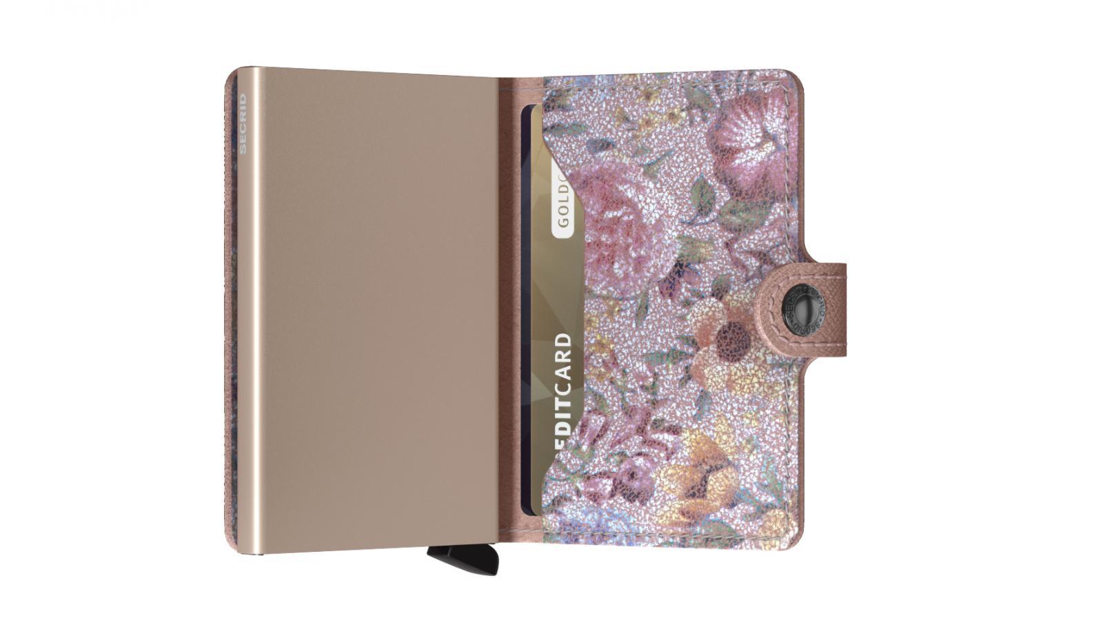 Secrid Miniwallet Crisple Rose Floral Wallet