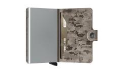 Secrid Miniwallet Crisple Taupecamo Cüzdan - Thumbnail