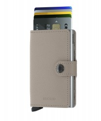 Secrid Miniwallet Crisple Taupecamo Wallet - Thumbnail