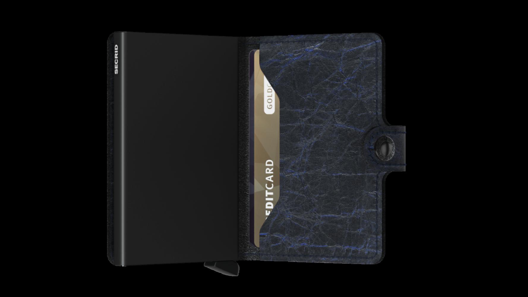 Secrid Miniwallet Crunch Blue Cüzdan