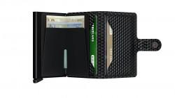 Secrid Miniwallet Cubic Black Cüzdan - Thumbnail