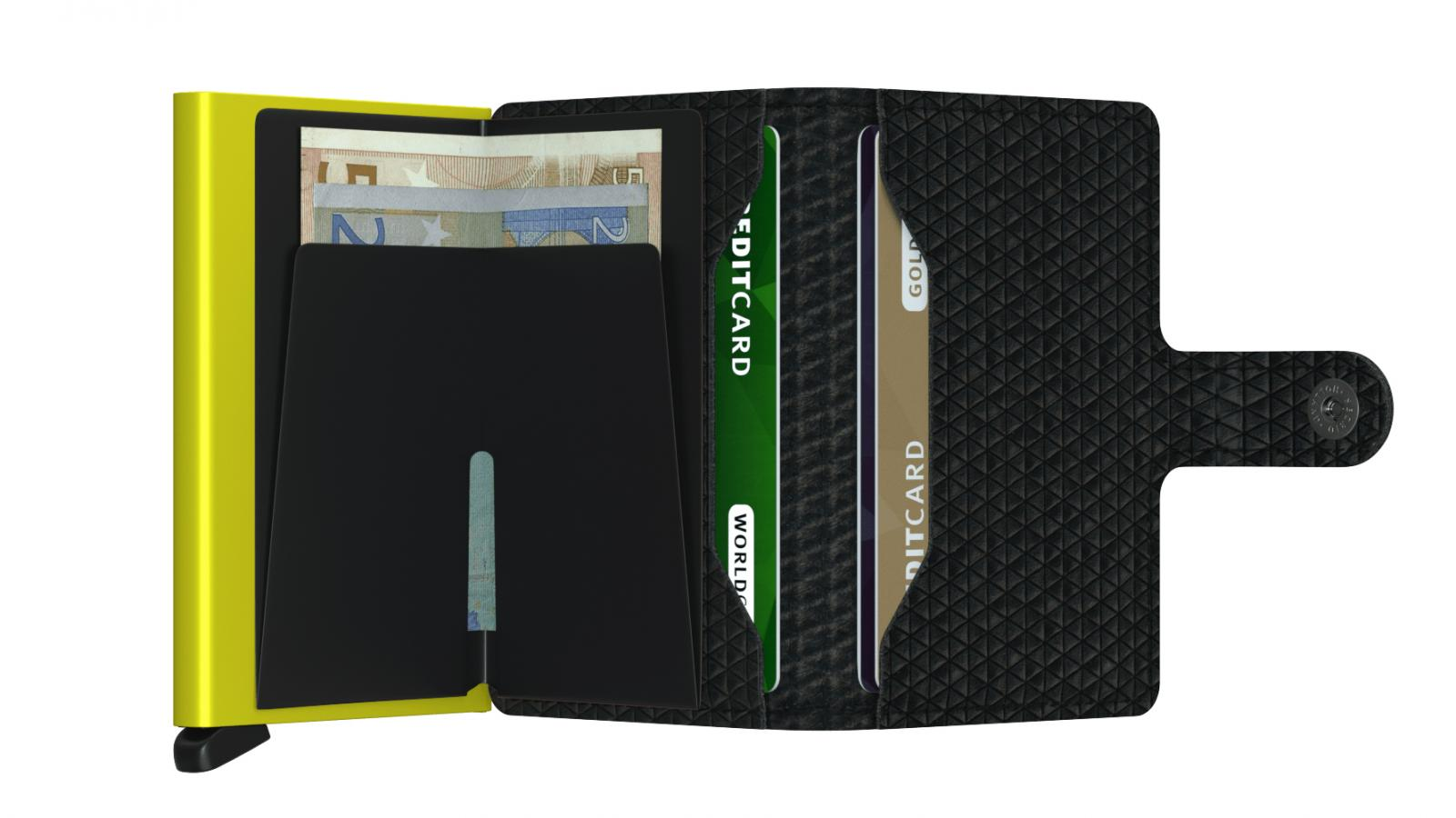 Secrid Miniwallet Diamond Black Cüzdan
