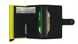 Secrid Miniwallet Diamond Black Wallet - Thumbnail