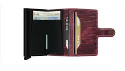 Secrid Miniwallet Dutchmartin Bordeaux Cüzdan - Thumbnail