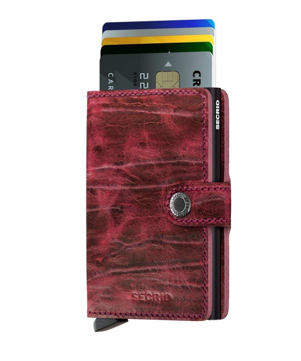 Secrid Miniwallet Dutchmartin Bordeaux Wallet