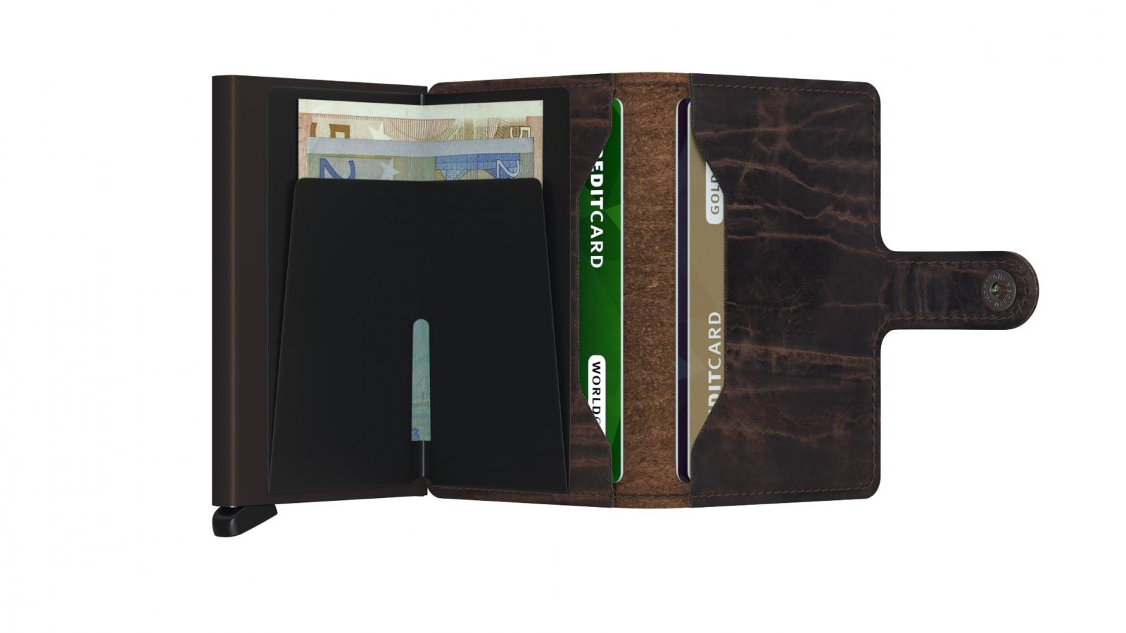 Secrid Miniwallet Dutchmartin Cacao Brown Cüzdan