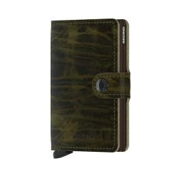 Secrid Miniwallet Dutchmartin Olive Cüzdan - Thumbnail