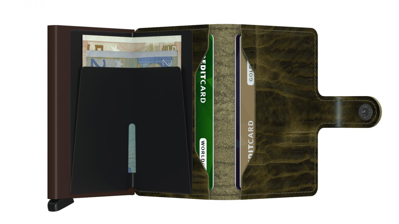 Secrid Miniwallet Dutchmartin Olive Cüzdan