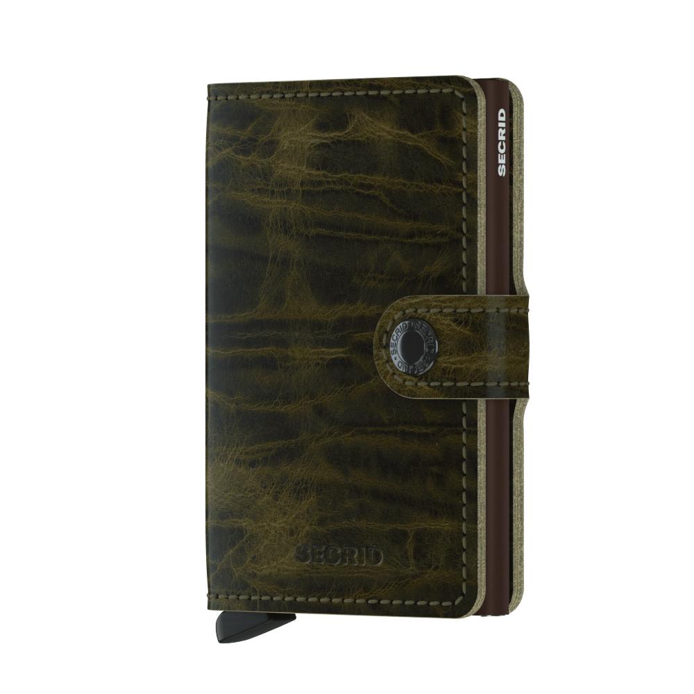 Secrid Miniwallet Dutchmartin Olive Wallet