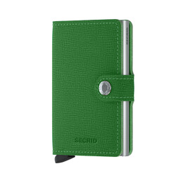 Secrid - Secrid Miniwallet Crisple Light Green Cüzdan