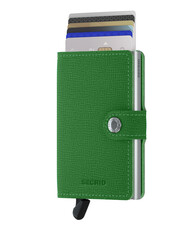 Secrid - Secrid Miniwallet Crisple Light Green Cüzdan (1)