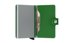 Secrid Miniwallet Crisple Light Green Cüzdan - Thumbnail