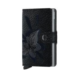 Secrid Miniwallet Magnolia Black Cüzdan - Thumbnail