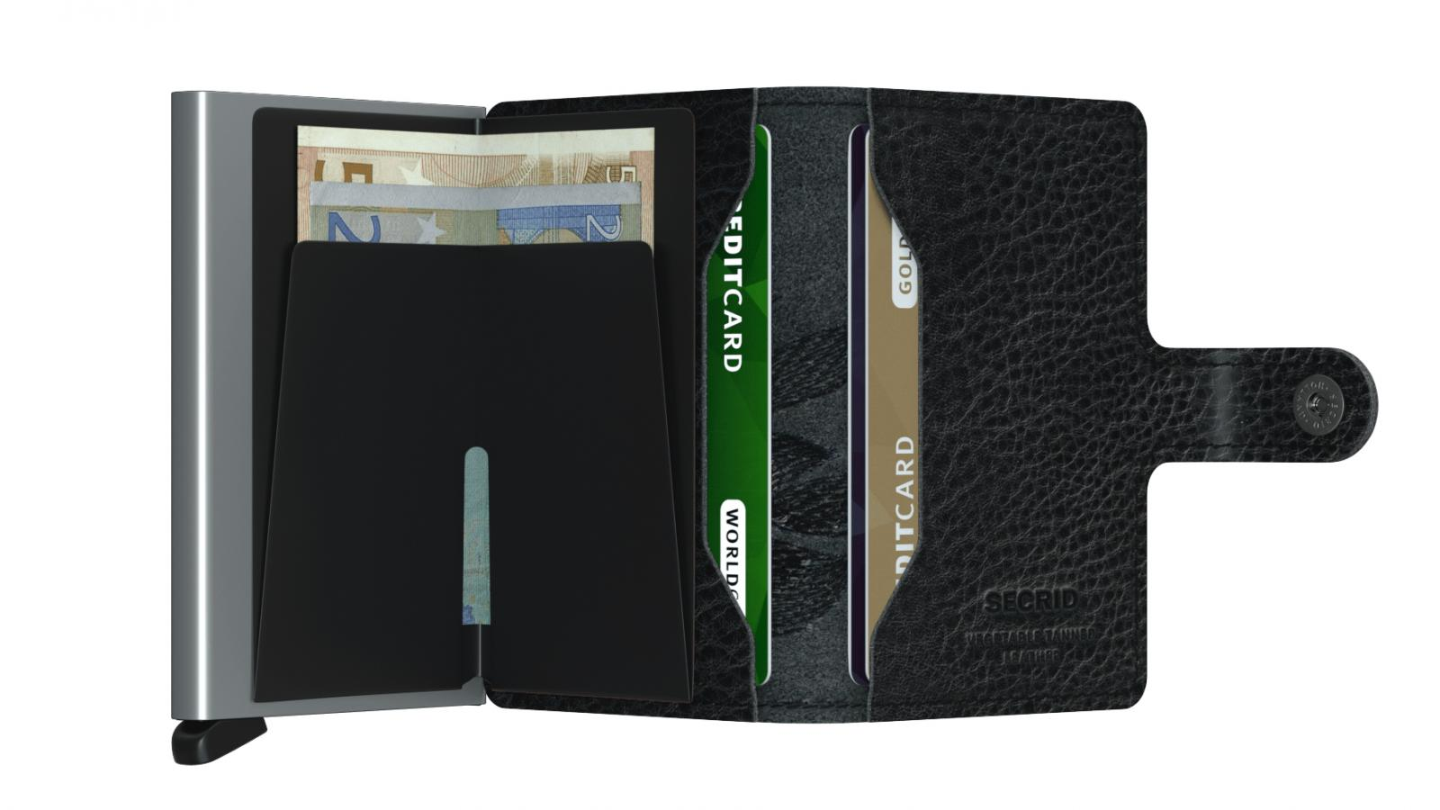 Secrid Miniwallet Magnolia Black Wallet