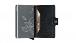 Secrid Miniwallet Magnolia Black Wallet - Thumbnail