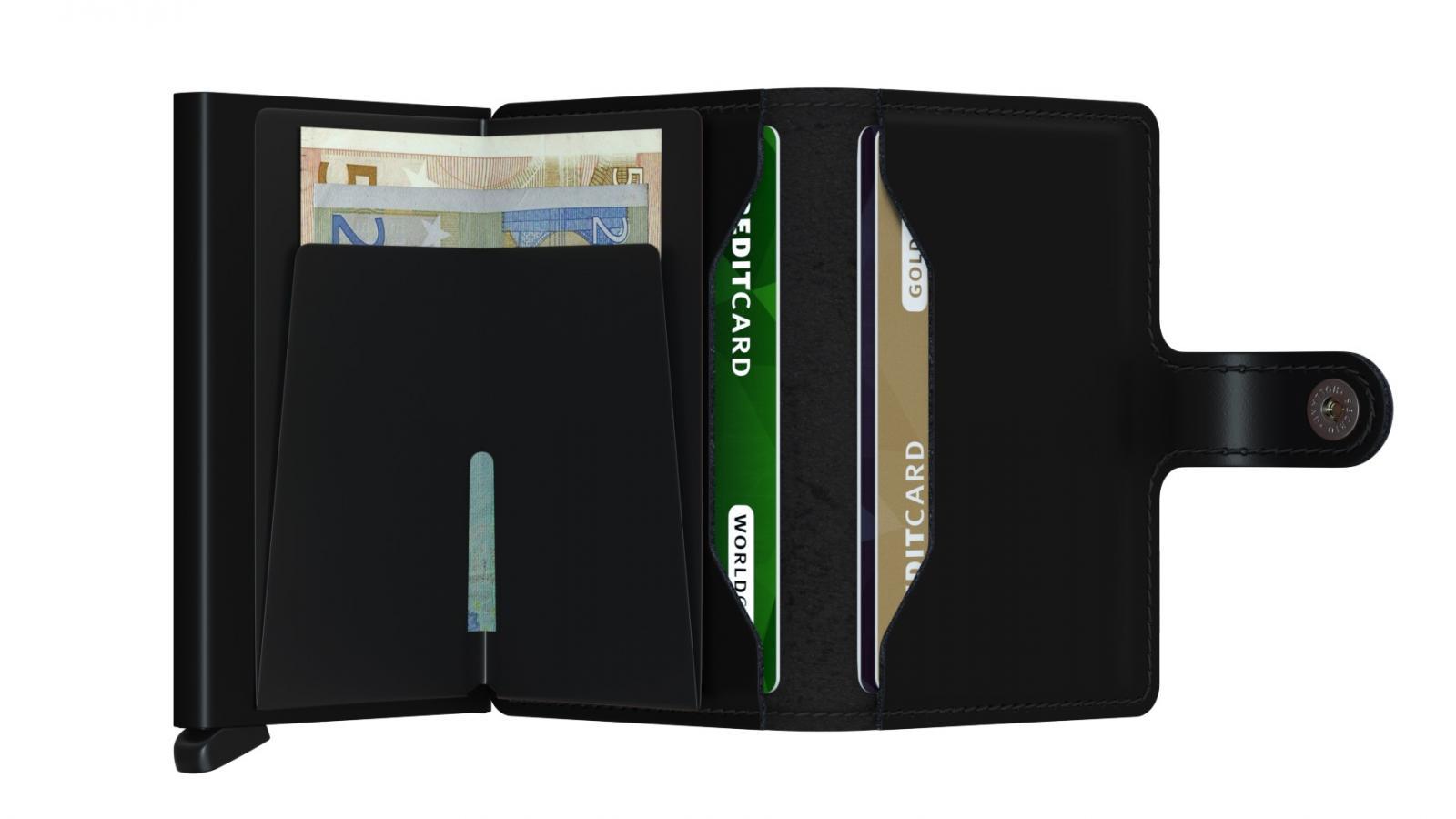 Secrid Miniwallet Matte Black Cüzdan