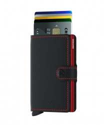Secrid - Secrid Miniwallet Matte Black Red Wallet (1)