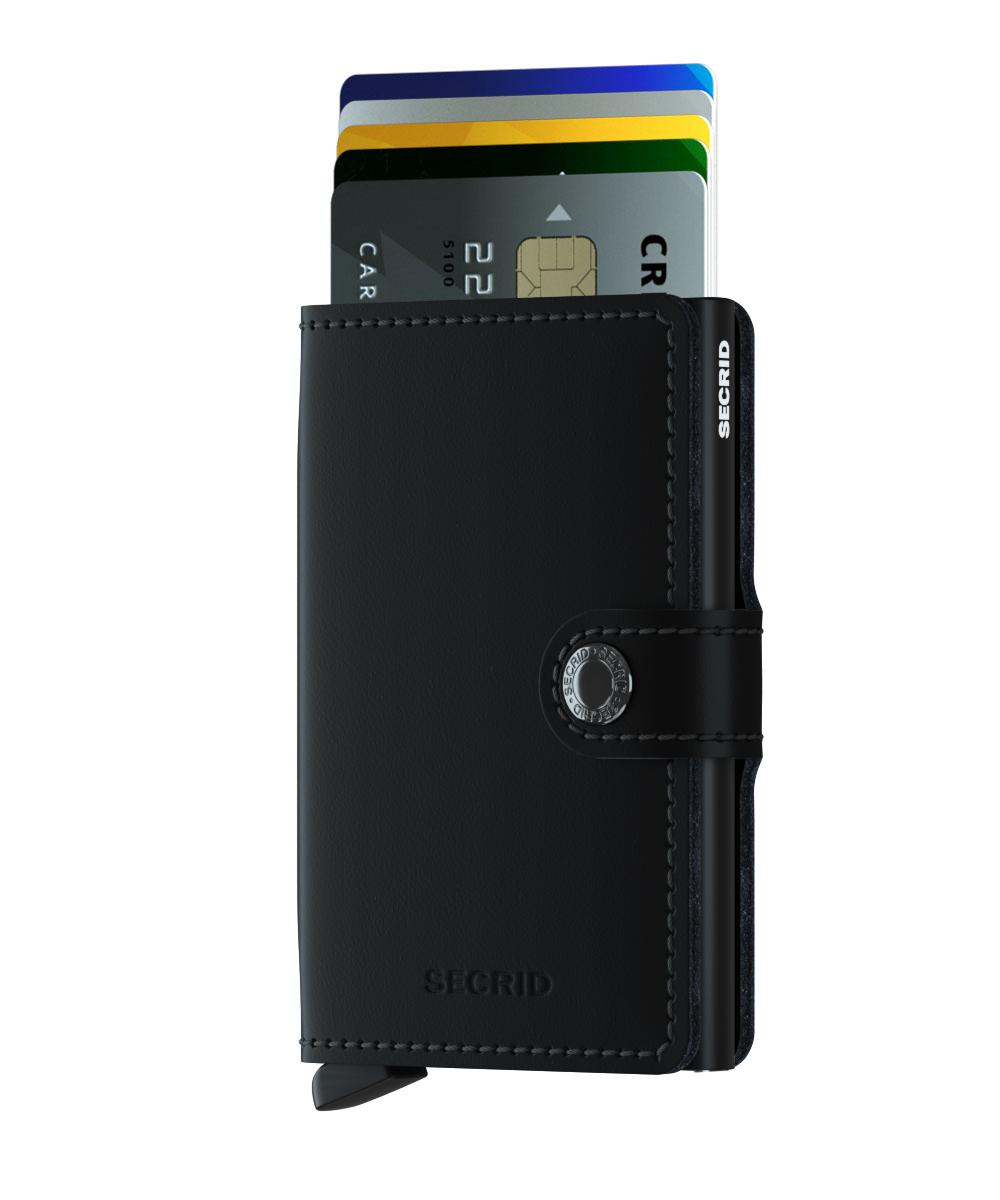 Secrid Miniwallet Matte Black Wallet