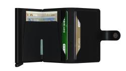 Secrid Miniwallet Matte Black Wallet - Thumbnail