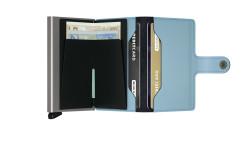 Secrid Miniwallet Matte Blue Cüzdan - Thumbnail