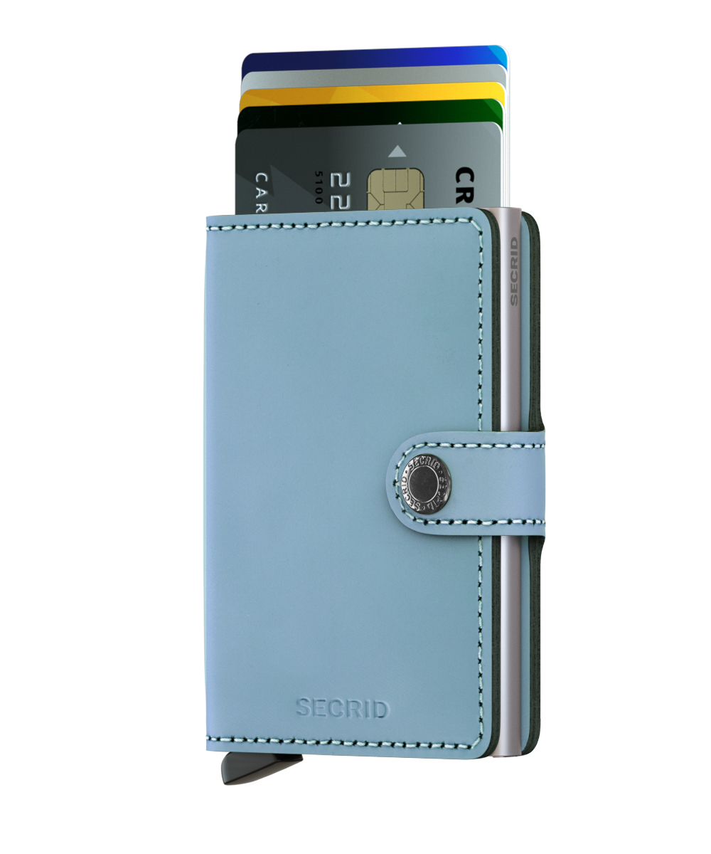 Secrid Miniwallet Matte Blue Cüzdan