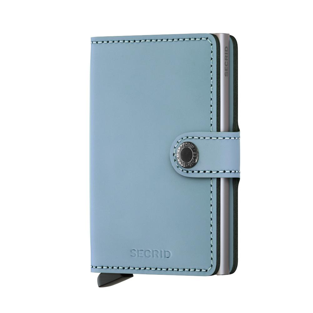 Secrid Miniwallet Matte Blue Wallet