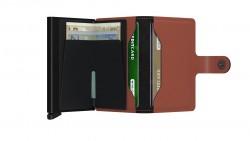 Secrid Miniwallet Matte Brick Black Cüzdan - Thumbnail
