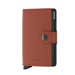 Secrid - Secrid Miniwallet Matte Brick Black Wallet