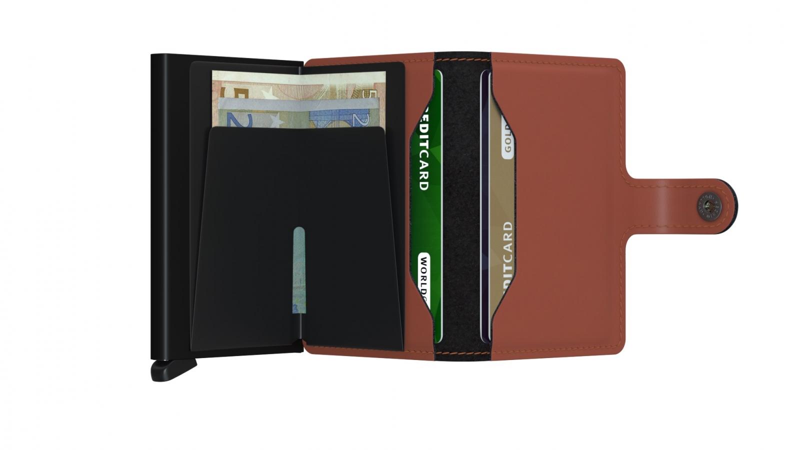 Secrid Miniwallet Matte Brick Black Wallet