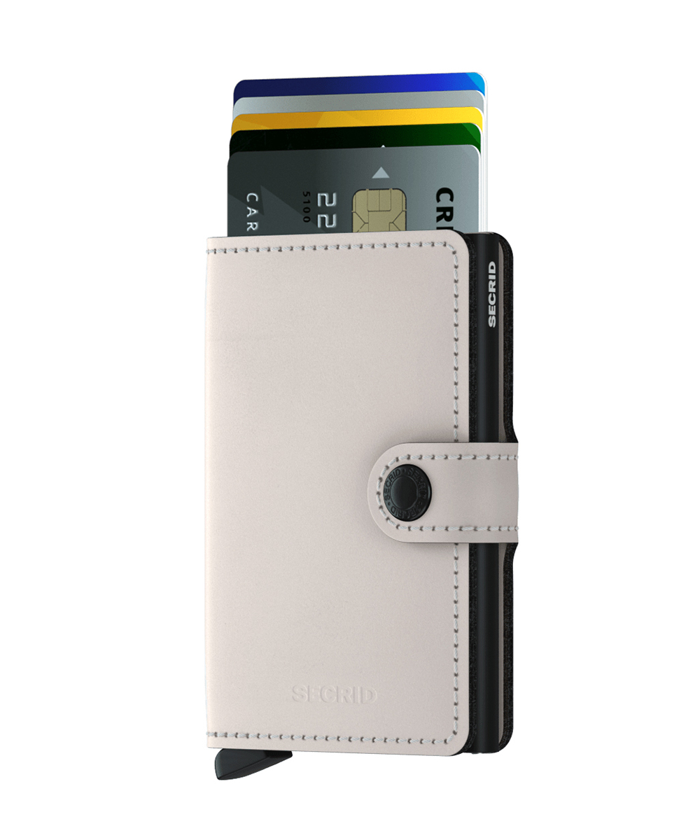 Secrid Miniwallet Matte Chalk Wallet