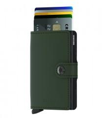 Secrid - Secrid Miniwallet Matte Green Black Cüzdan (1)