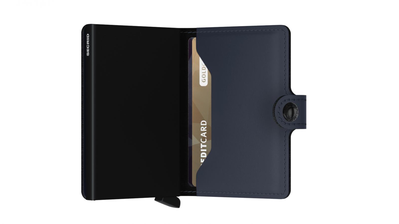 Secrid Miniwallet Matte Night Blue Cüzdan